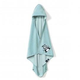 Brisača za novorojenčke iz bambusa - panda