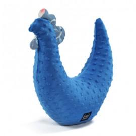 Mala kokoška, vzglavnik in igrača - modra