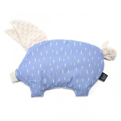 Sleepy pig, vzglavnik in igrača - wolfie rain