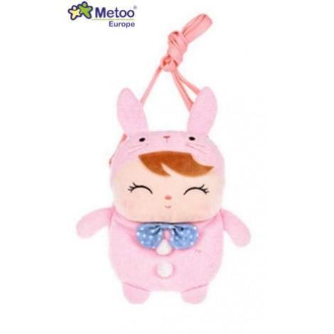 Denarnica - roza lutka Zajčica