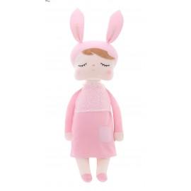 Lutka Zajčica - roza XL