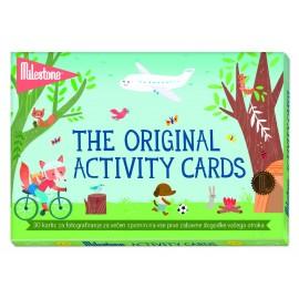 MILESTONE kartice za fotografiranje dogodivščin z malčkom - Activity Cards (SLO)