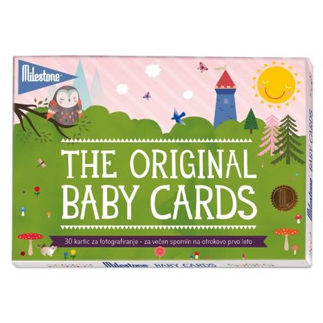 MILESTONE kartice za fotografiranje dojenčka - Milestone Baby Cards (SLO) Milestone Cards
