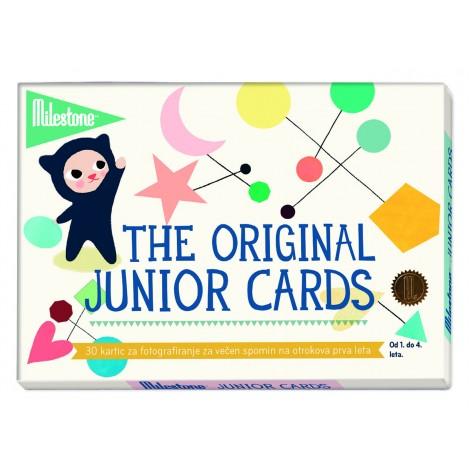MILESTONE kartice za fotografiranje malčka med 1. in 4. letom starosti - Junior Cards (SLO)