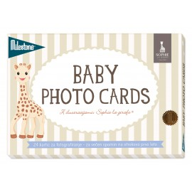 MILESTONE kartice za fotografiranje dojenčka - Sophie La Girafe