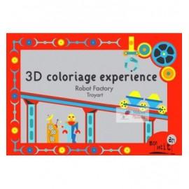3D pobarvanka - tovarna robotov