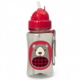 Steklenička s slamico -   Medvedek