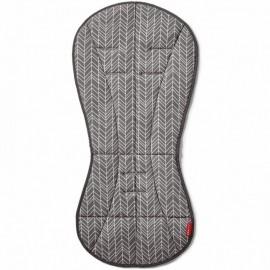 Univerzalna podloga za otroški voziček - Grey Feather