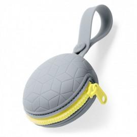 Silikonska Grab&Go torbica za dudice - Grey
