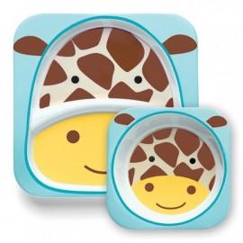 Jedilni set -  žirafa