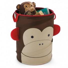 Zložljivi koš za igrače - opica