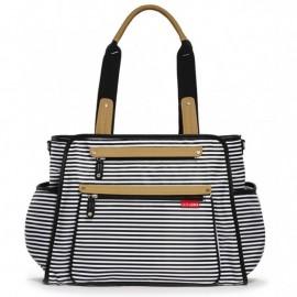 Previjalna torba Grand Central - Black Stripe