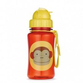 Steklenička s slamico - opica