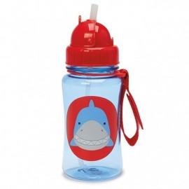 Steklenička s slamico -   morski pes