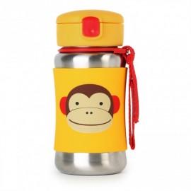 Steklenička iz nerjavečega jekla - opica