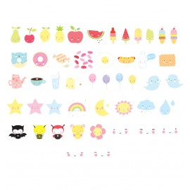 Lightbox letter set - Kawaii