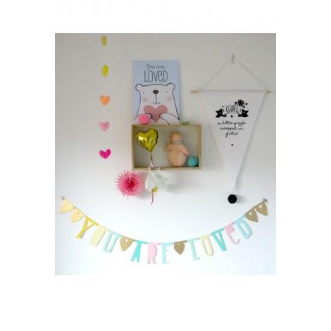 Letter Banner: Pastel