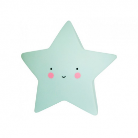 Mini lučka - Zvezdica Mint