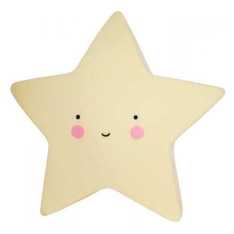 Mini lučka - Zvezdica (več barv)