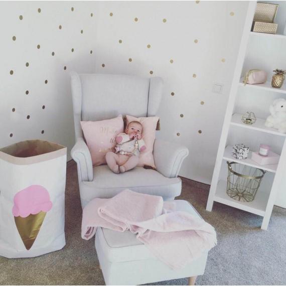 stenske nalepke zlate pike. Black Bedroom Furniture Sets. Home Design Ideas