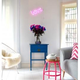 Neonska lučka - Love roza