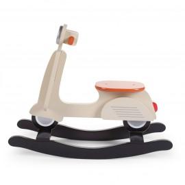 Otroški gugalnik - Rocking skuter Childhome Cream