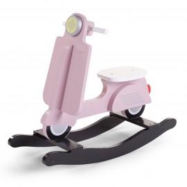 Otroški gugalnik - Rocking skuter Childhome Pink