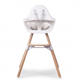 Otroški stol Childhome Evolu 2 White/Natural