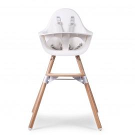 Otroški stol Childhome Evolu 2 White/Natural