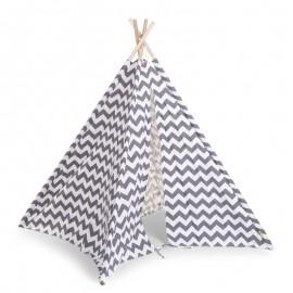Otroški šotor Tipi Tent Zigzag