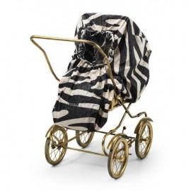 Dežna zaščita za voziček - Zebra Sunshine