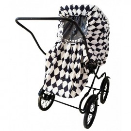 Dežna zaščita za voziček - Graphic Grace