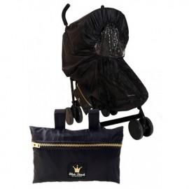 Dežna zaščita za voziček - Black Edition