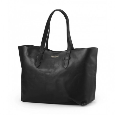 Previjalna torba - BLACK LEATHER