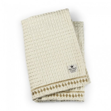 Odejica Waffle blanket - Vanilla White