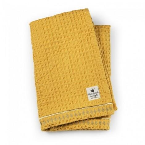 Odejica Waffle blanket - Sweet Honey