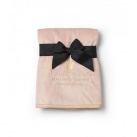 Žametna odejica - Powder Pink