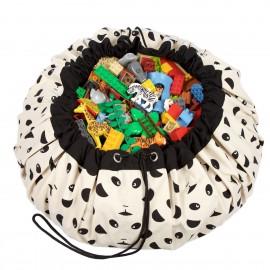 Vreča za shranjevanje igrač in podloga Play&Go 2v1 - Panda