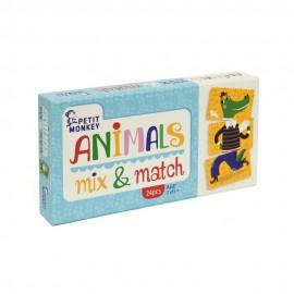 Živali MIX & MATCH 3+