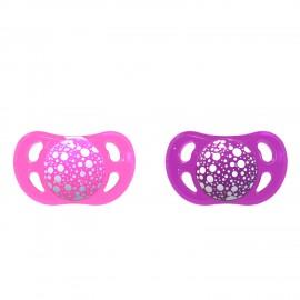2x Duda Twistshake® Pink&Purple