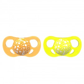 2x Duda Twistshake® Orange&Yellow