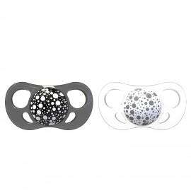2x Duda Twistshake® Black&White