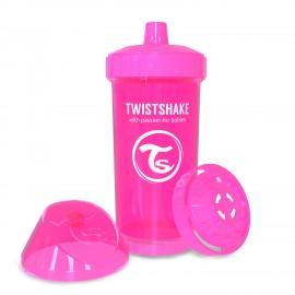 Twistshake® Kid Cup Neon Pink 360ml(12+m)