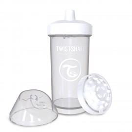 Twistshake® Kid Cup White 360ml (12+m)